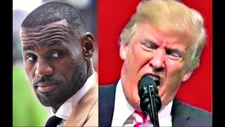 LeBron James CALLS Trump a BUM Steph Curry Trump vs NFL,NBA