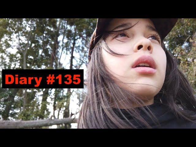 Diary #135 -Outside Gardening?! -use a shovel - お外で畑仕事?!シャベル!