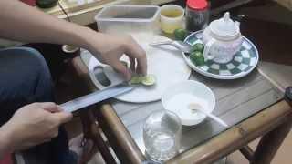 Cách pha trà chanh cực ngon