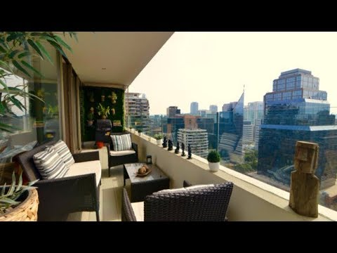 Furnished apartment rental in El Golf Las Condes Santiago Chile