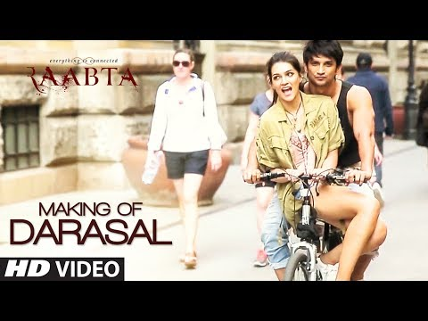 Thumbnail: Making of Darasal Video Song | Raabta | Sushant Singh Rajput & Kriti Sanon