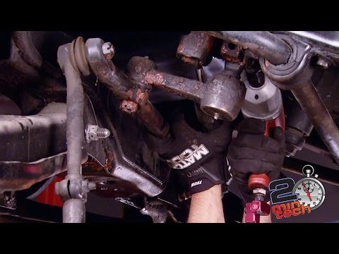 How To Replace Steering Linkage On \u002794-\u002702 Dodge Ram - YouTube
