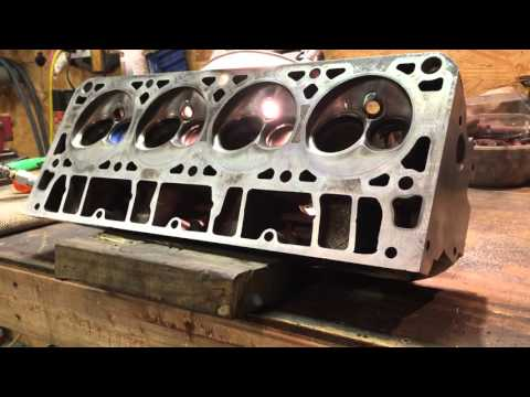 4.8 Turbo LS 241 heads clean up Turd-Bo