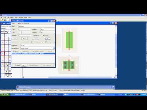 drawing cmos inverter using electric vlsi cad system