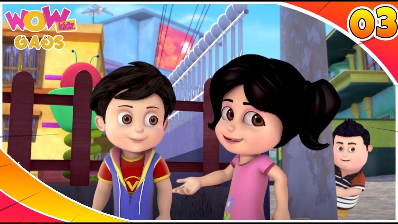 Cartoons For Kids | Best Comedy Scenes Of Vir: The Robot Boy | Part - 3 | WowKidz Gags