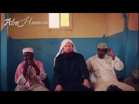 Arabischer Vortrag von Pierre Vogel in Somalia - الداعية الألماني بير فوجل ابو حمزة في الصومال