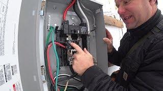 CLOSE CALL POWER MISTAKE! (Generator Backup Installation)