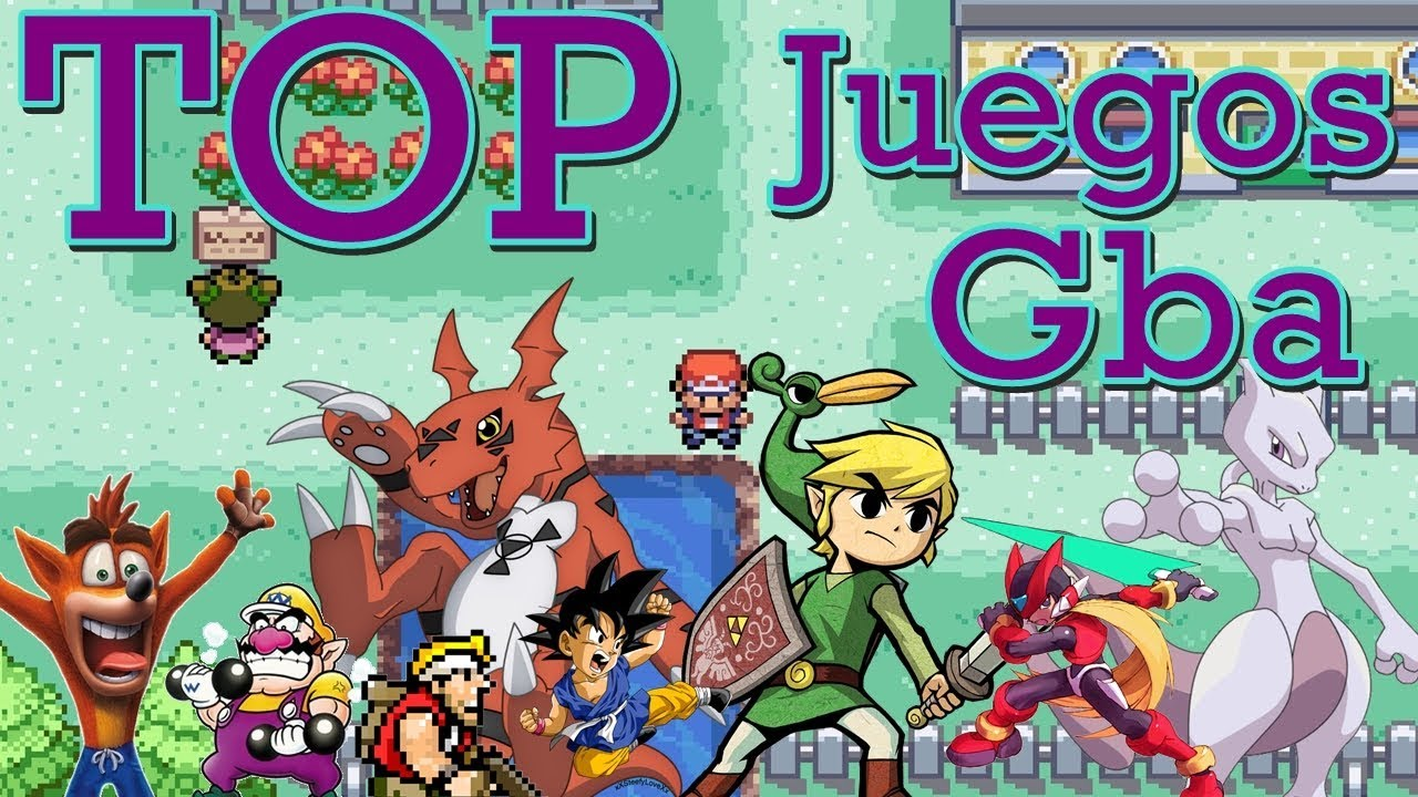 Top 10 Mejores Juegos Gba Gameboy Advance Link De Descarga