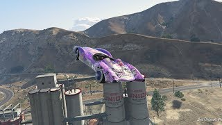 GTA 5 SCRAMJET STUNTS