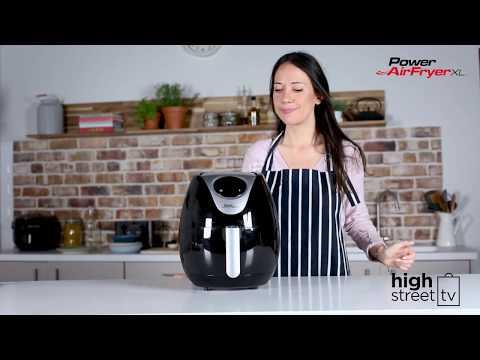 Power Air Fryer XL - Quick Start Guide