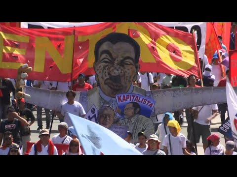 Raw: May Day Rallies In Manila, Jakarta, Seoul