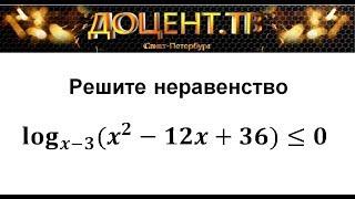 15 задание УРОК 2 ЕГЭ Математика Профиль (Логарифм. неравенства)