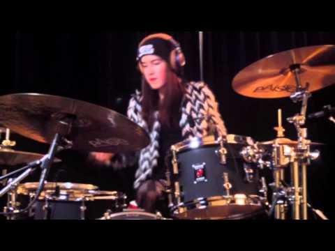 Mira Burgers Hit Like A Girl Contest 2015 FINALIST! drumvideo