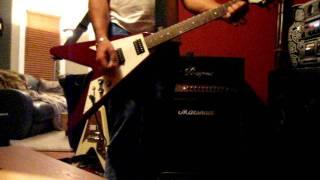 T.REX METAL GURU  Guitar Cover