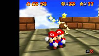 "SM64 [TAS] - Tower of the Wing Cap Red Coins (19""83)"