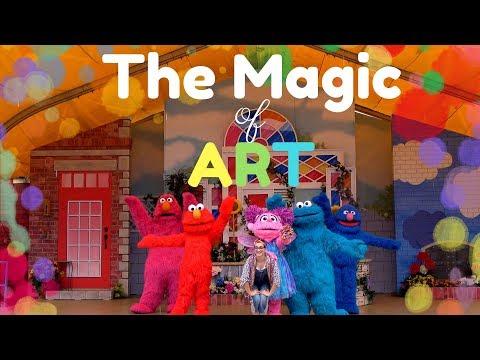 The Magic of Art 2017 | Sesame Place | Sesame Street