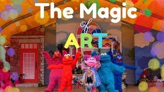 The Magic of Art    Sesame Place   Sesame Street