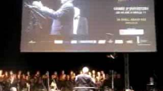 Buzz Aldrin Conducting 2001 A Space Symphony