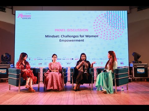 Mindset: Challenges for Women Empowerment| Panel Discussion | Women Leadership Summit 2018