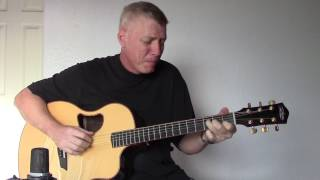 Baby Grand - Billy Joel & Ray Charles - Fingerstyle Guitar Cover