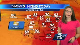Forecast: Seasonably Hot This Weekend, Slight Chance of Rain