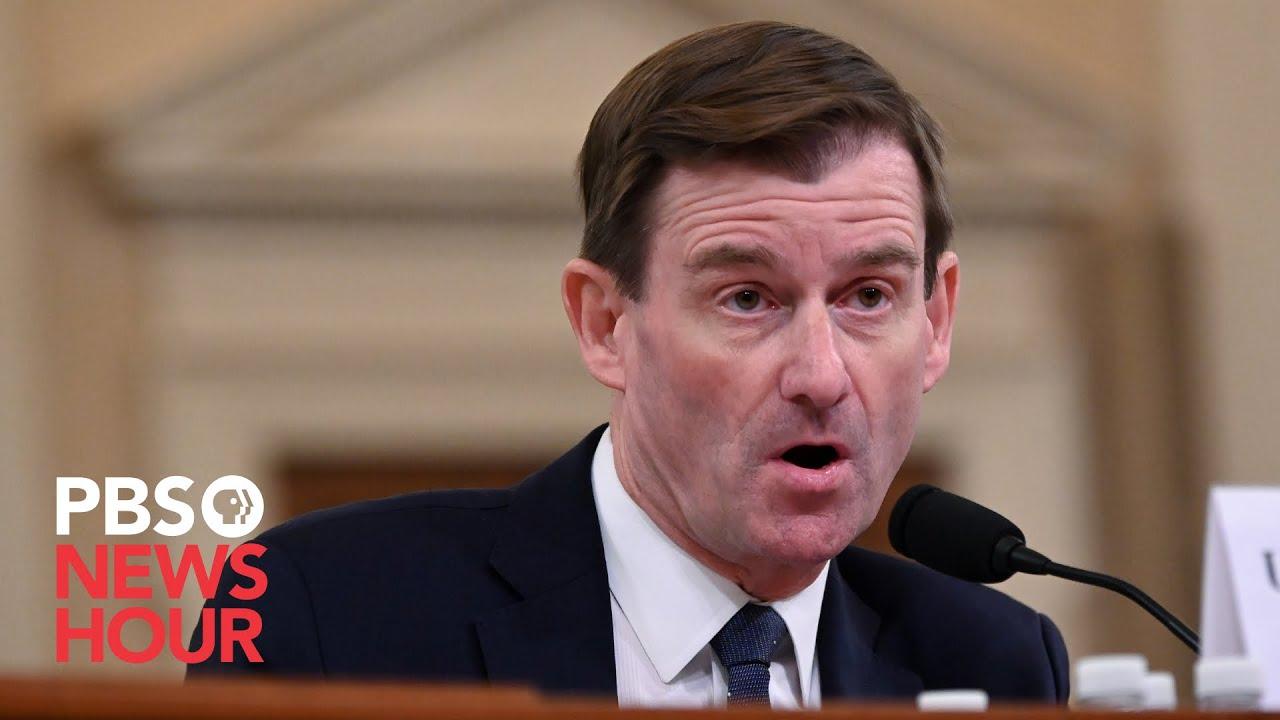 WATCH LIVE: Undersecretary of State David Hale testifies on U.S. policy towards Russia