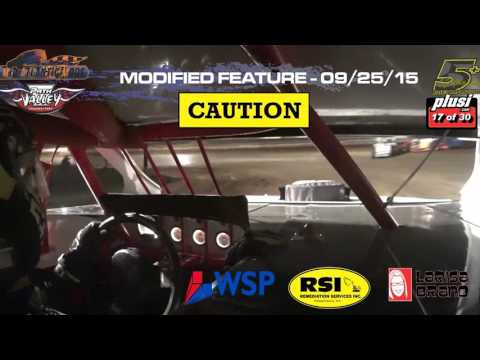 Path Valley Speedway/Mid-Atlantic Modifieds - Front Camera - Feature September 25, 2015