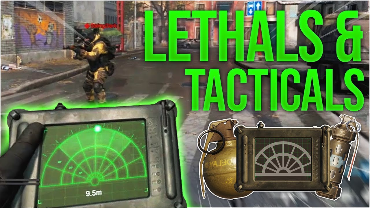 ALL LETHALS & TACTICALS in Call of Duty: Modern Warfare