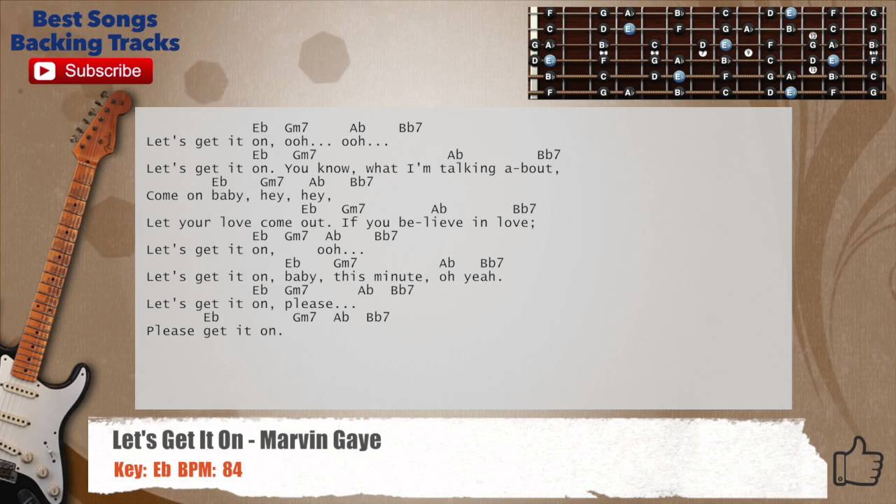 how to play marvin gaye on guitar