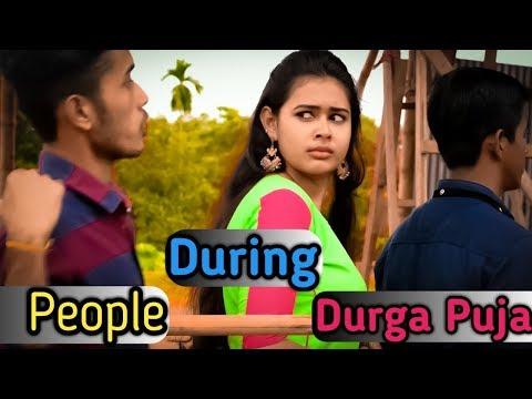Bengalis In Durga Puja   Bangla Funny Video 2018   FunHolic Chokrey