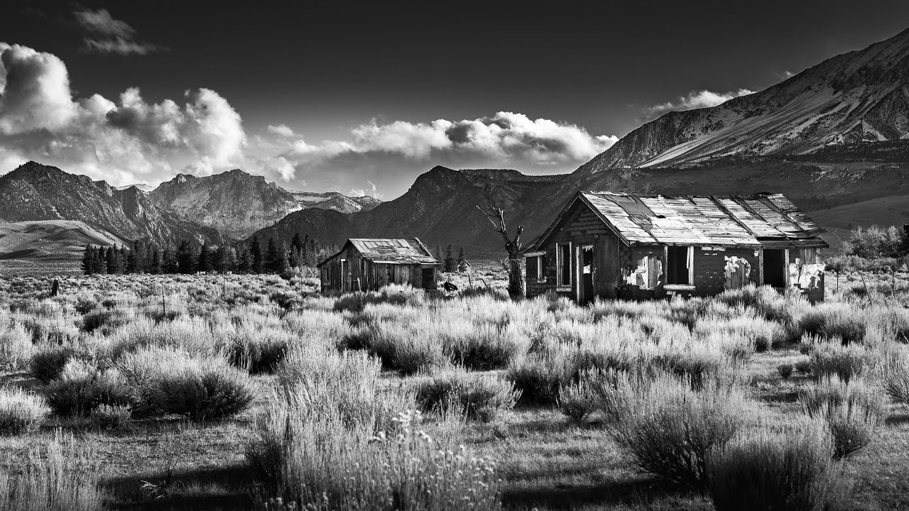 Dramatic black and white conversion in adobe lightroom