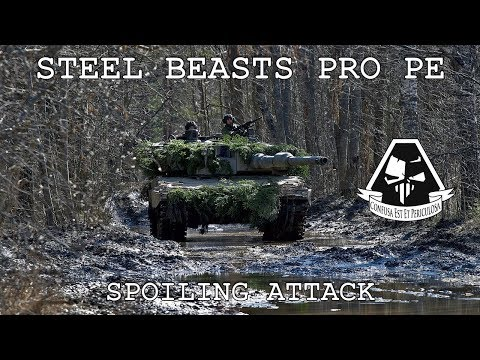 Steel Beasts Pro PE: Spoiling Attack