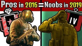 This is Why Pros in 2016 Are THE SAME As Coppers In 2019 - Rainbow Six Siege