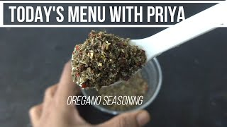 Homemade oregano seasoning recipe