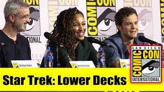 STAR TREK: LOWER DECKS | Comic Con 2019 Full Panel (Mike McMahan, Tawny Newsome, Jack Quaid)