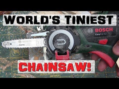 BOLTR: Bosch Mini Chainsaw | KID SIZED DANGER!