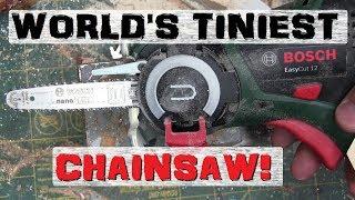 boltr bosch mini chainsaw   kid sized danger