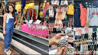 Street Shopping in Irla Market and Lokhandwala in budget   Birthday Dress Hunt   Priyanka Mehra`