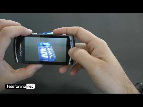 Sony Ericsson Vivaz Pro videoreview da Telefonino.net
