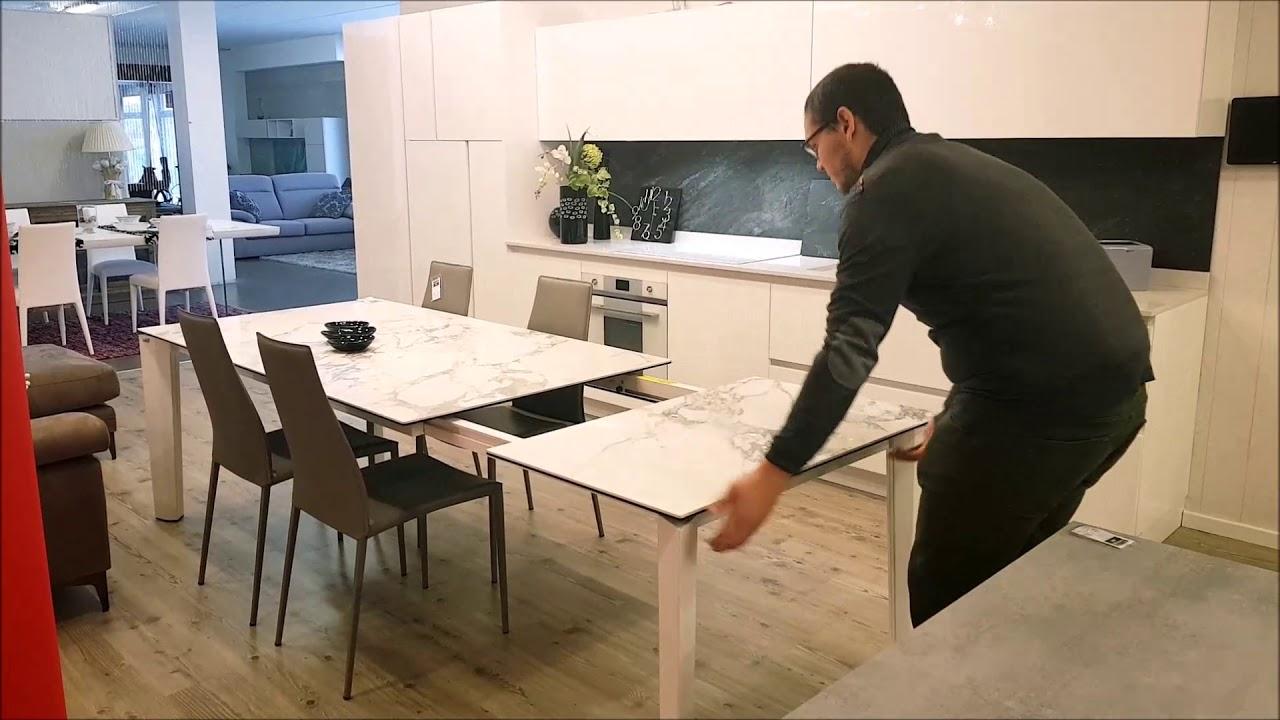 Tavolo Delta Calligaris Meccanismo Di Apertura Youtube