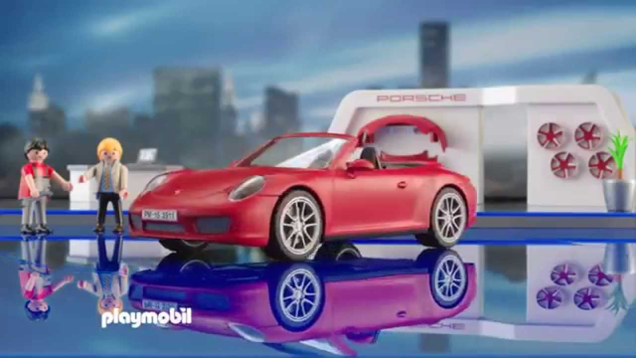 playmobil presenteert de nieuwe porsche 911 carrera s. Black Bedroom Furniture Sets. Home Design Ideas