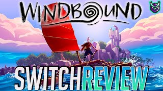 Windbound Nintendo Switch Review-Zelda Survival Game! (Video Game Video Review)