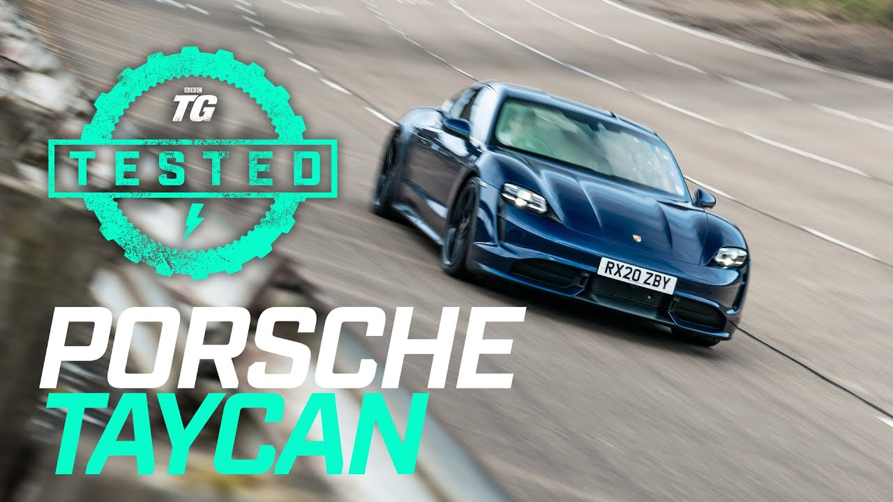 Porsche Taycan Turbo EV Review: 0-60, 0-100, Ride, Handling, Charging & Real-world Range | Top Gear