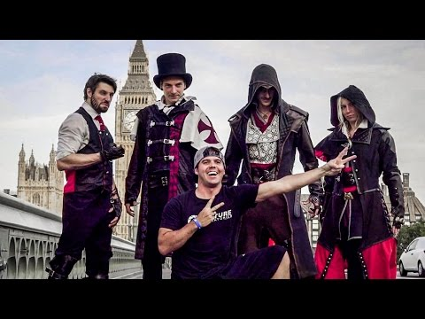 Behind The Scenes - Assassin's Creed Syndicate Meets Parkour in Real Life
