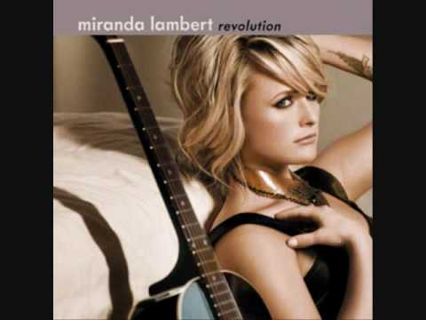 Miranda Lambert- Gunpowder and lead lyrics HQ