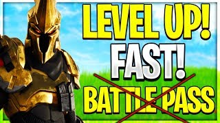 How To Level Up Fast In Fortnite Without Battle Pass (Fortnite Season X)