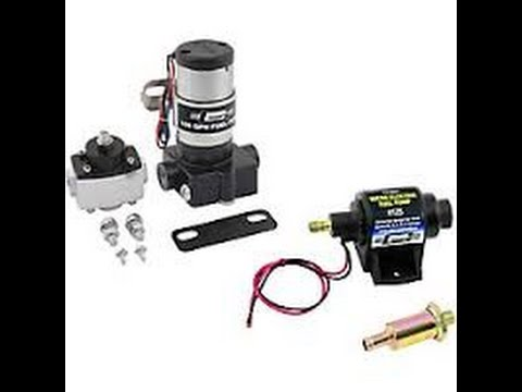 Installing An Aftermarket Electric Fuel Pump On Your Chevy Pickup