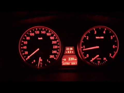 Bmw 520i 2004 E60 Acceleration Test 0 160 Manual Gearbox Youtube