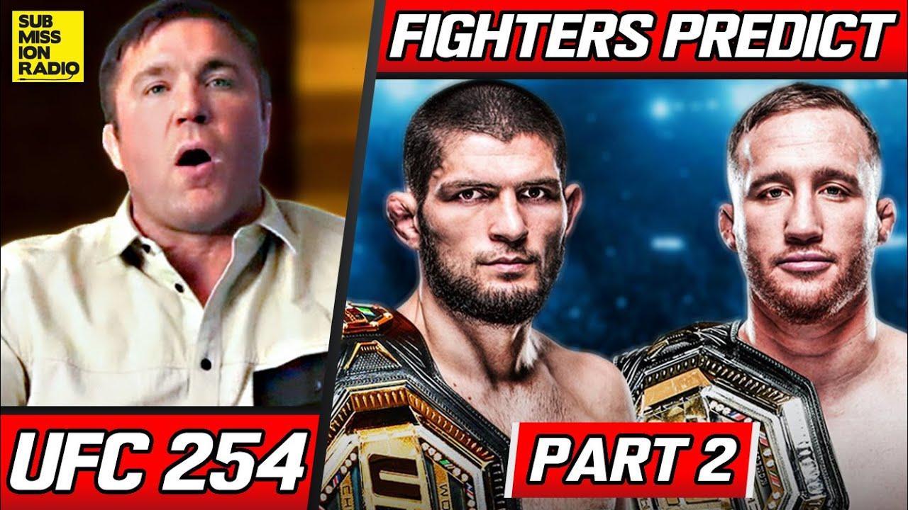 FIGHTERS PREDICT: Khabib Nurmagomedov vs. Justin Gaethje   UFC 254   PART 2