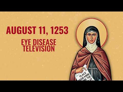 Saint of the Day — Clare of Assisi— August 11th